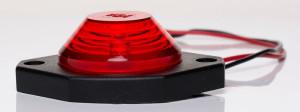 Latarka LED czerwona